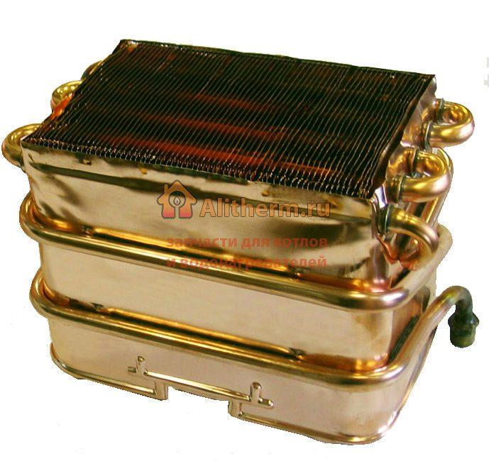 Теплообменник к газовым колонкам электролюкс Пластины теплообменника Alfa Laval A15-BW FDR Зеленодольск